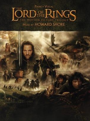 Le Seigneur des Anneaux Trilogy Howard Shore Partition laflutedepan
