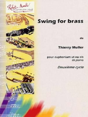 Swing For Brass - Thierry Muller - Partition - Tuba - laflutedepan.com