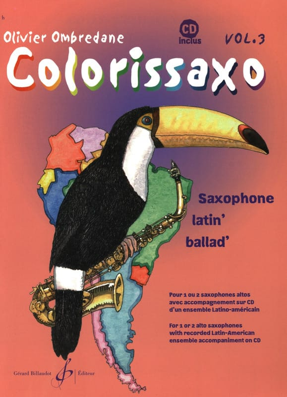 Colorissaxo - Volume 3 - Olivier Ombredane - laflutedepan.com