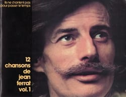 12 Chansons - Volume 1 Jean Ferrat Partition laflutedepan