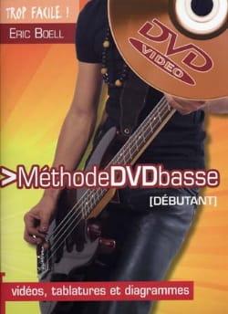 Méthode Basse Débutant Vidéo - Eric Boell - laflutedepan.com