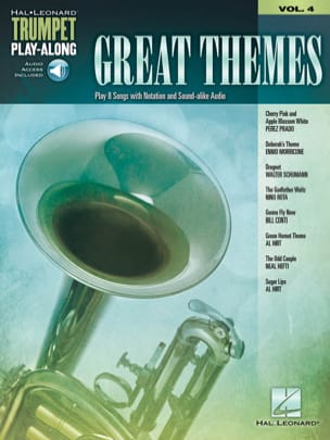 Trumpet Play-Along Volume 4 Great Themes - Partition - di-arezzo.fr