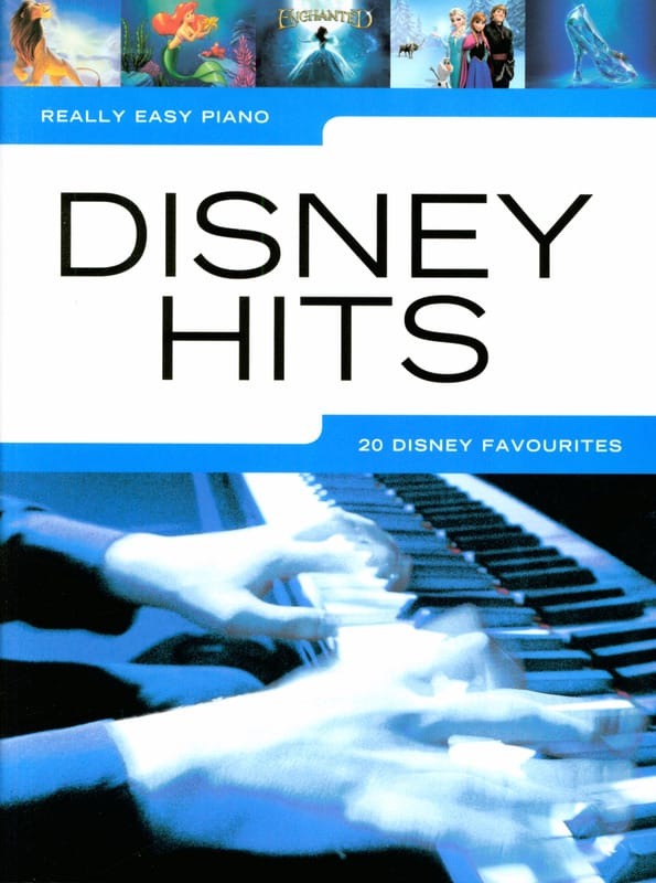 Really Easy Piano - Disney Hits - DISNEY - laflutedepan.com