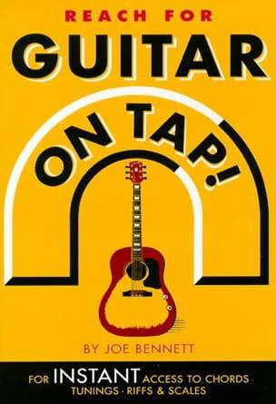 Reach For Guitar On Tap Joe Bennett Partition Guitare - laflutedepan