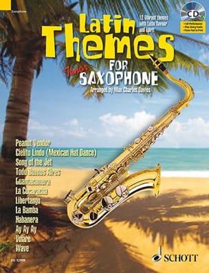 Latin themes Partition Saxophone - laflutedepan
