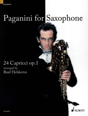 Paganini For Saxophone, 24 Caprices Opus 1 PAGANINI laflutedepan