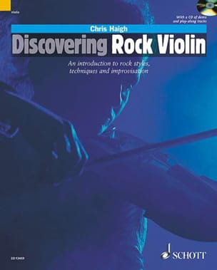 Discovering Rock Violin Chris Haigh Partition Violon - laflutedepan