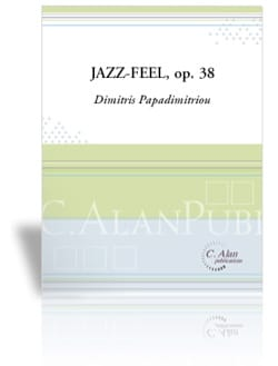 Jazz-Feel Opus 38 Dimitris Papadimitriou Partition laflutedepan