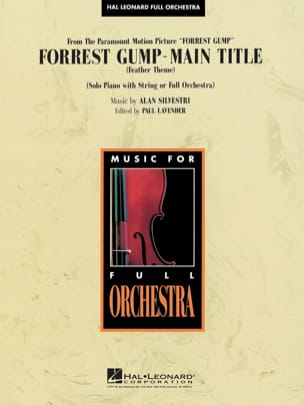 Forrest Gump Suite - Main Theme Alan Silvestri Partition laflutedepan