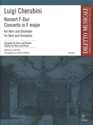 Concerto en Fa Majeur CHERUBINI Partition Cor - laflutedepan