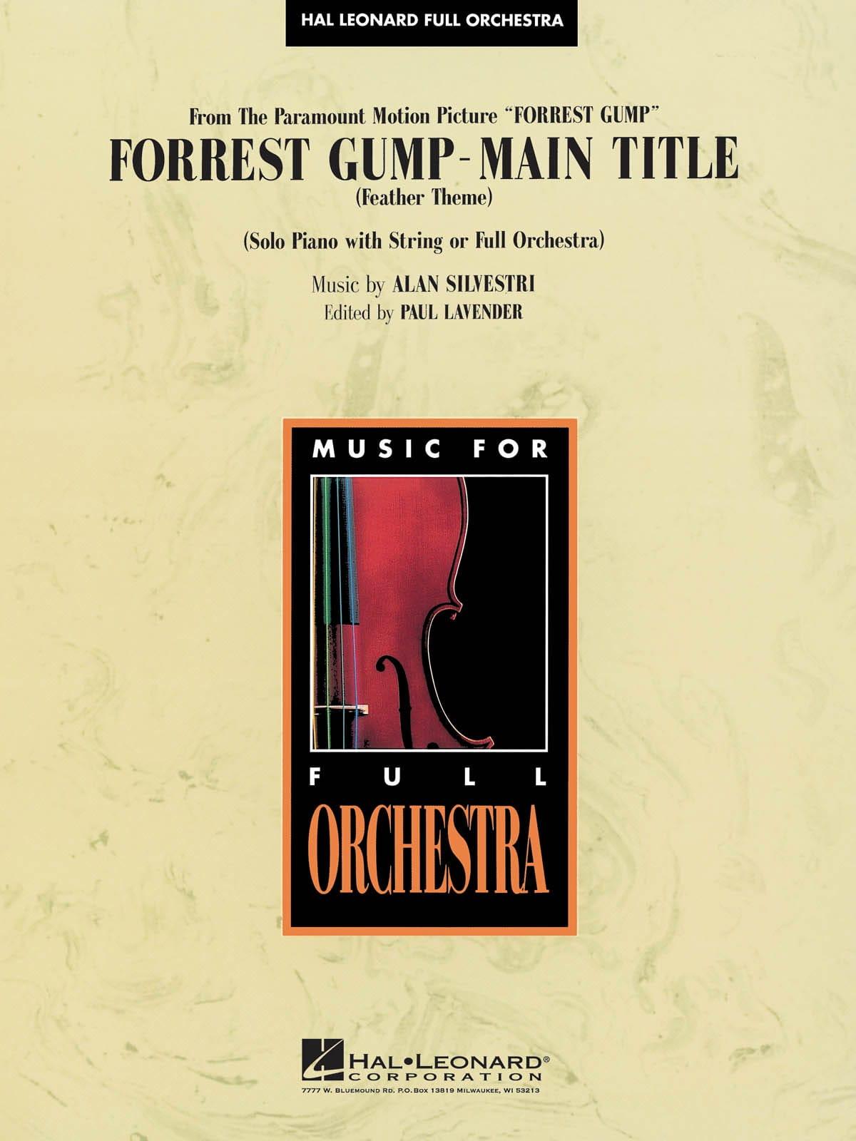 Forrest Gump Suite - Main Theme - Alan Silvestri - laflutedepan.com