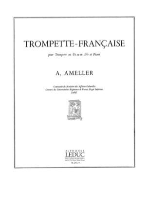Trompette-Française André Ameller Partition Trompette - laflutedepan