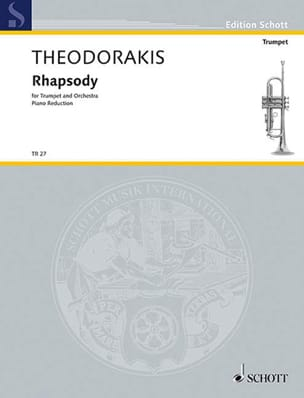 Rhapsody - THEODORAKIS - Partition - Trompette - laflutedepan.com