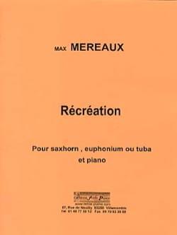Récréations Max Méreaux Partition Tuba - laflutedepan