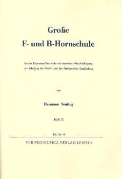 Grosse F Und B Hornschule Volume 2 Hermann Neuling laflutedepan