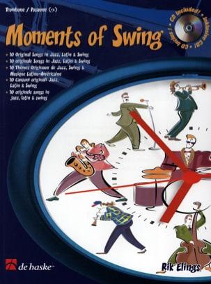 Moments Of Swing Rik Elings Partition Trombone - laflutedepan