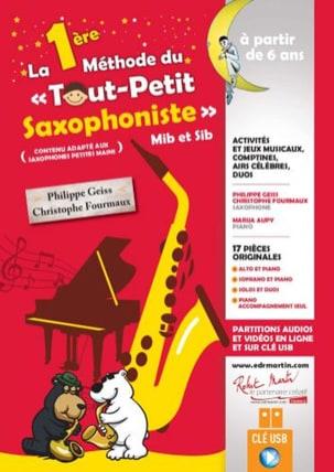 La 1ère Méthode du Tout Petit Saxophoniste - laflutedepan.com