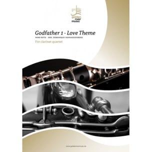 Le Parrain, Love Theme - Quatuor de Clarinettes ROTA laflutedepan