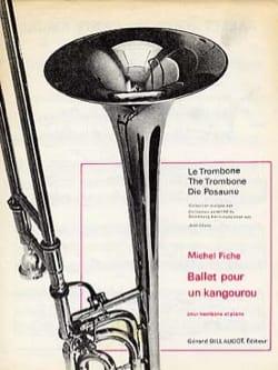Ballet Pour Un Kangourou Michel Fiche Partition laflutedepan