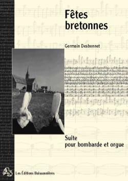 Fêtes Bretonnes Germain Desbonnet Partition laflutedepan