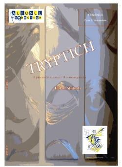 Tryptich Eldad Shiloah Partition Timbales - laflutedepan