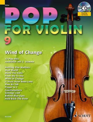 Pop for Violin Volume 9 - Wind Of Change Partition laflutedepan