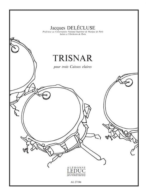 Trisnar - Jacques Delécluse - Partition - laflutedepan.com