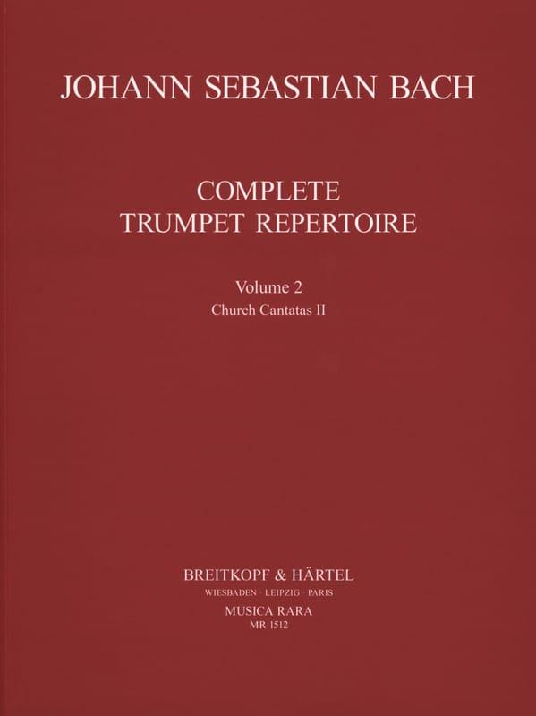 Complete Trumpet Repertoire Volume 2 - BACH - laflutedepan.com