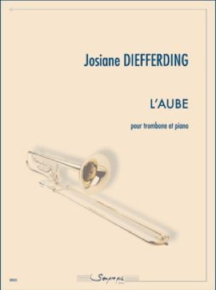 L'aube - Josiane Diefferding - Partition - Trombone - laflutedepan.com