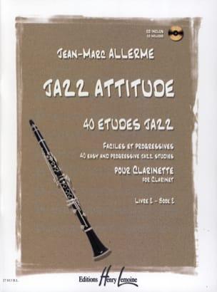 Jazz Attitude Livre 2 Jean-Marc Allerme Partition laflutedepan