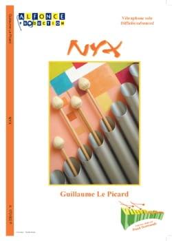 Nyx Picard Guillaume Le Partition Vibraphone - laflutedepan