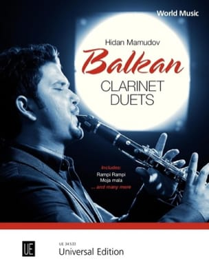 Balkan Clarinet Duets Traditionnel / Mamudov Hidan laflutedepan