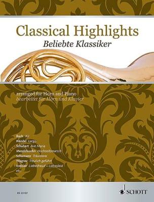 Classical Highlights Partition Cor - laflutedepan