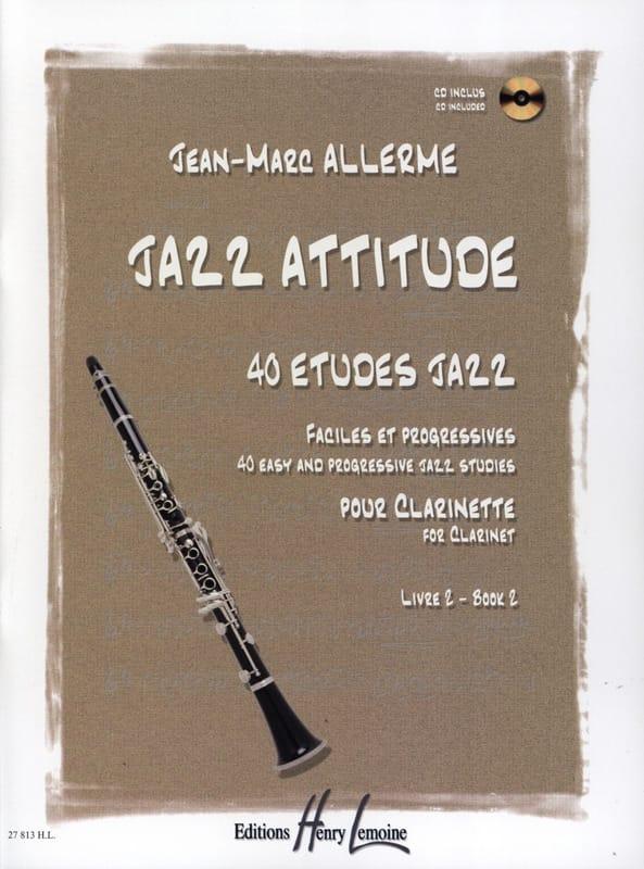 Jazz Attitude Livre 2 - Jean-Marc Allerme - laflutedepan.com