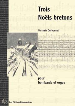 Trois Noëls Bretons Germain Desbonnet Partition laflutedepan
