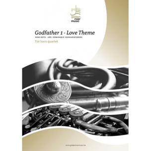 Le Parrain, Love Theme - Quatuor de Cors ROTA Partition laflutedepan
