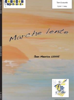 Marche Lente - Jean-Maurice Lenne - Partition - laflutedepan.com