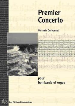 Premier Concerto Germain Desbonnet Partition laflutedepan