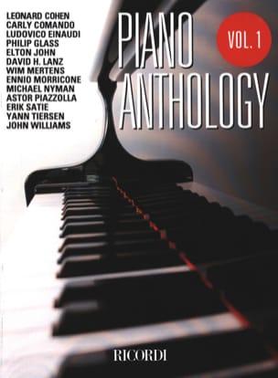 Piano anthology volume 1 Partition Musique de film - laflutedepan