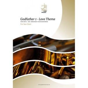 Le Parrain, Love Theme - Sax Choir ROTA Partition laflutedepan