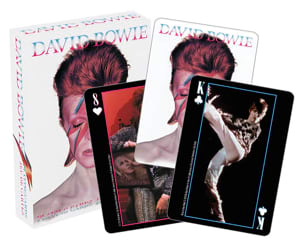 Jeu de Cartes - David Bowie Jeu Musical Accessoire laflutedepan
