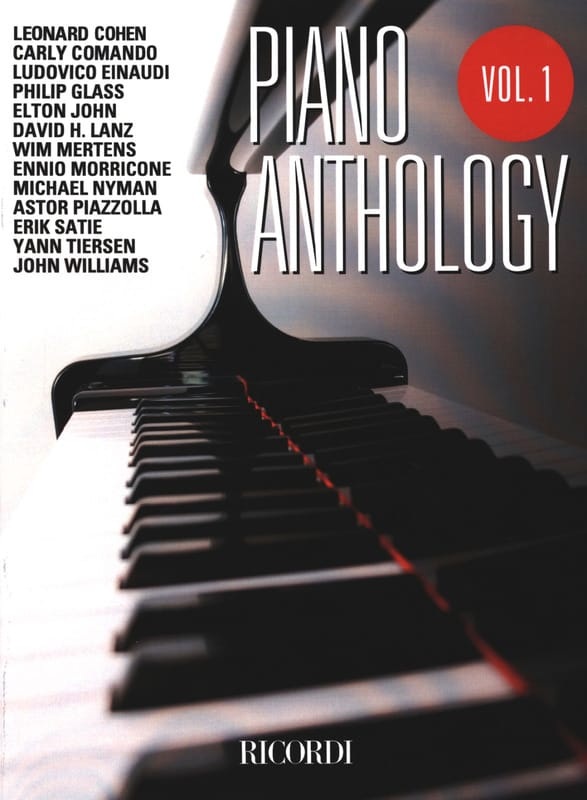 Piano anthology volume 1 - Partition - laflutedepan.com