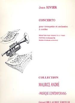 Concerto Jean Rivier Partition Trompette - laflutedepan