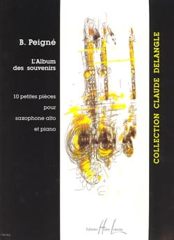 L' Album Des Souvenirs Bertrand Peigné Partition laflutedepan