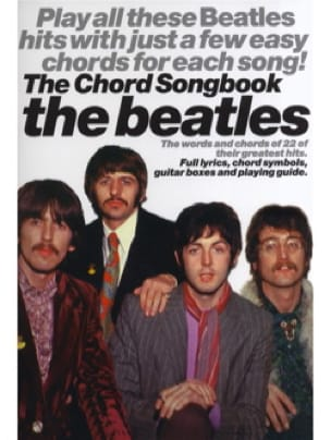The Beatles Chord Songbook - Beatles - Partition - laflutedepan.com