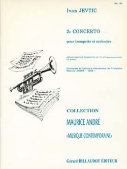2e Concerto Ivan Jevtic Partition Trompette - laflutedepan