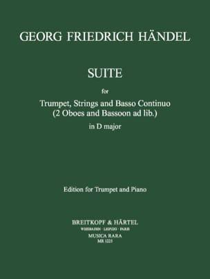 Suite en Ré majeur HAENDEL Partition Trompette - laflutedepan