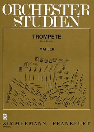 Orchester Studien MAHLER Partition Trompette - laflutedepan
