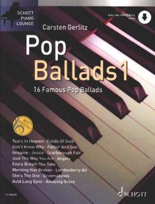Pop Ballads 1 Partition Pop / Rock - laflutedepan