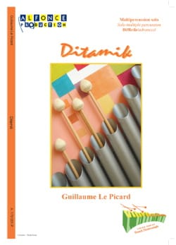 Ditamik Picard Guillaume Le Partition Multi Percussions - laflutedepan
